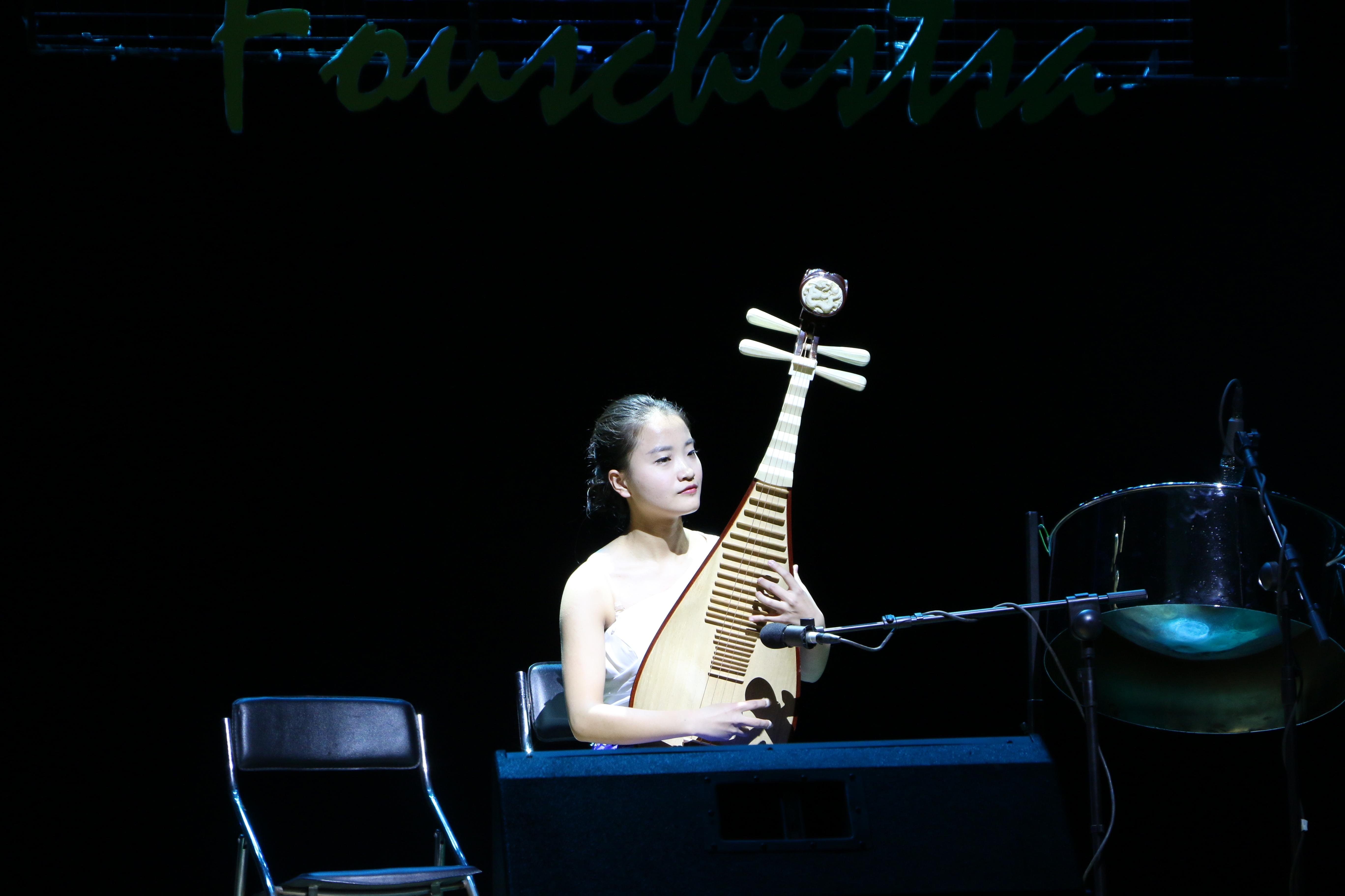 陆珊珊用琵琶弹奏《彝族舞曲》